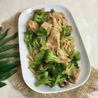 Brokoli Jamur Masak Bawang Putih