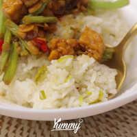 Nasi Daun Jeruk Rice Cooker