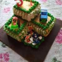 B'day Cake 2 Tingkat