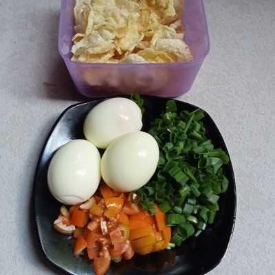 Step 7 Soto Ayam Betawi