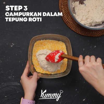 Step 3 Tahu Katsu