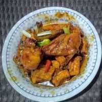 Ayam & Tahu Goreng Mentega