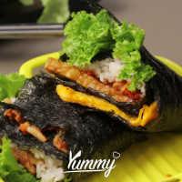 Folded Kimbap Vegetarian