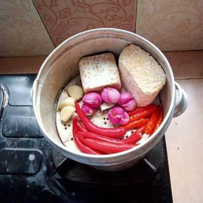 Step 1 Diet Food Tempe Merah