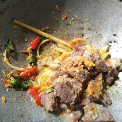 Step 2 Nasi Bakar Isi Iga Sapi #MakanMasakBijak