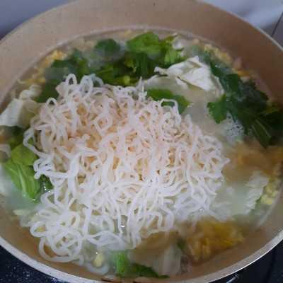 Step 6 Shirataki Kuah Tetelan Ayam #MakanMasakBijak
