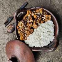 Teriyaki Tofu Rice Bowl #RabuEkstraPoin