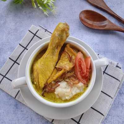 Step 6 Bubur Kare Ayam Tahu #MakanMasakBijak