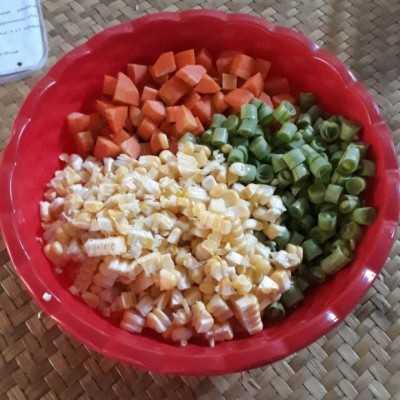 Step 2 Tumis Sayur Pelangi