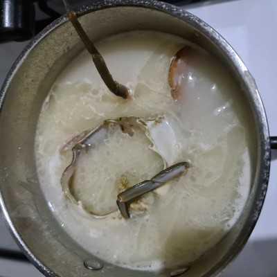 Step 3 Creamy Kare Kepiting