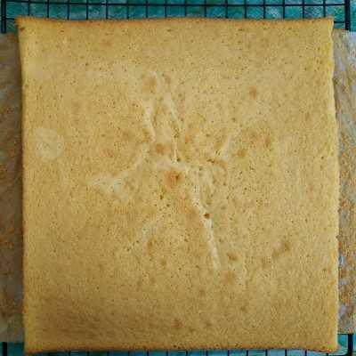 Step 6 Cake Potong