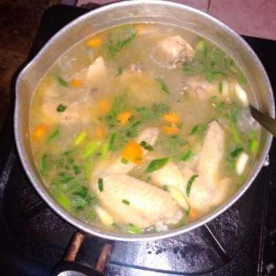 Step 5 Sop Ayam Sederhana