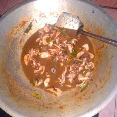 Step 5 Cumi Saus Padang