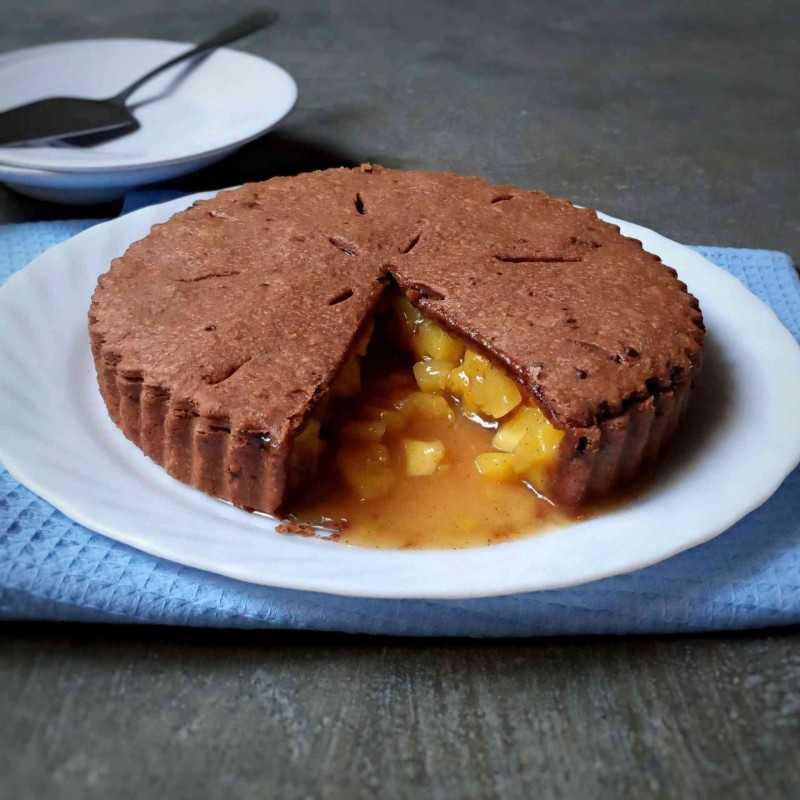 Choco Pineapple Pie