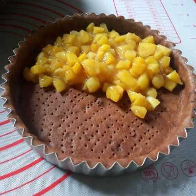 Step 6 Choco Pineapple Pie