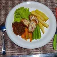 Chicken Cordon Bleu Barbeque Sauce