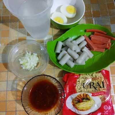 Step 1 Rabokki Homemade #KoreanFood