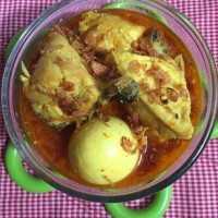 Kare Ayam, Telur, Tahu No Santan