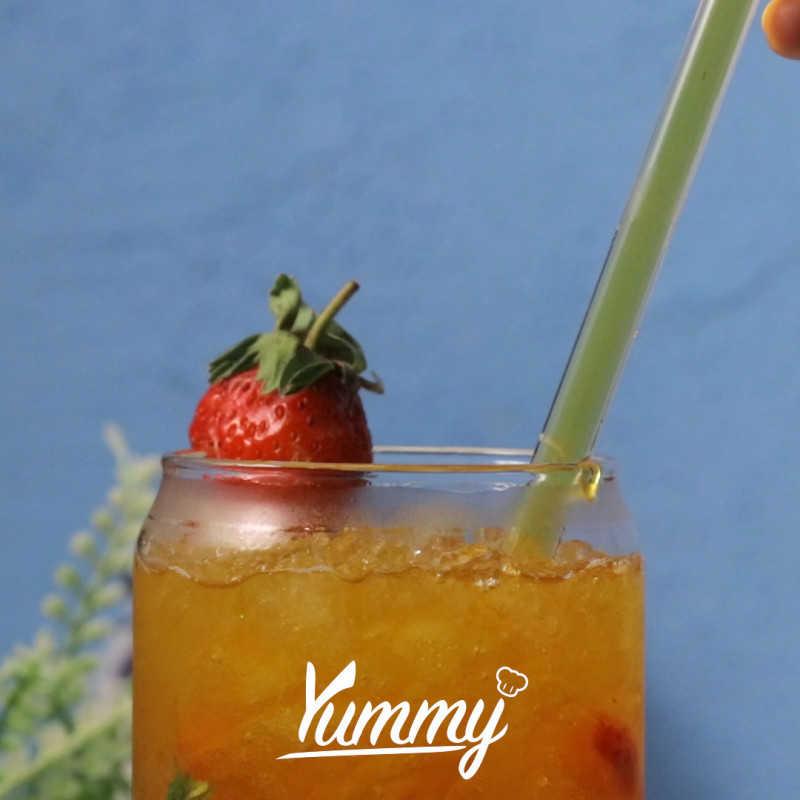 Es Teh Strawberry Lemonade