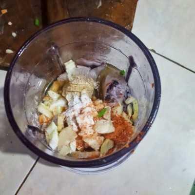 Step 1 Bakso Ikan #UntukSiBuahHati