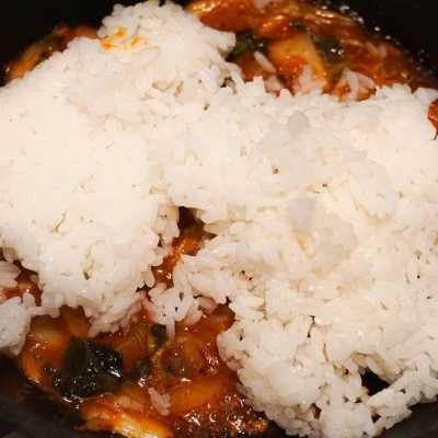 Step 3 Nasi Goreng Kimchi