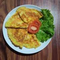 Thai Style Shrimp Omelette