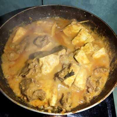 Step 5 Rendang Daging #JajanDiRumah