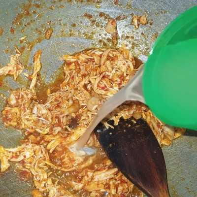 Step 6 Nasi Bakar Ayam Suir Kemangi #JajanDiRumah