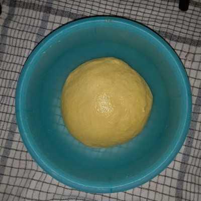 Step 2 Almond Raisin Buns #UntukSiBuahHati