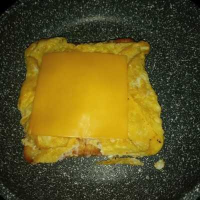 Step 4 Egg Sandwich for Kids! #UntukSiBuahHati