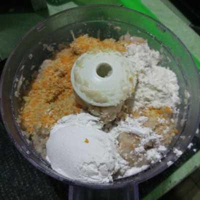 Step 4 Nugget Ayam Jamur #UntukSiBuahHati