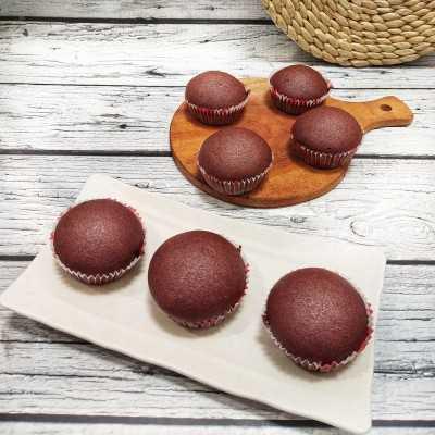 Step 5 Cupcake Cokelat dan Strawberry #UntukSiBuahHati
