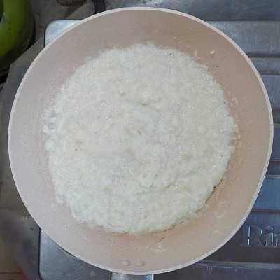 Step 1 Bubur Sop Ayam #JajanDiRumah