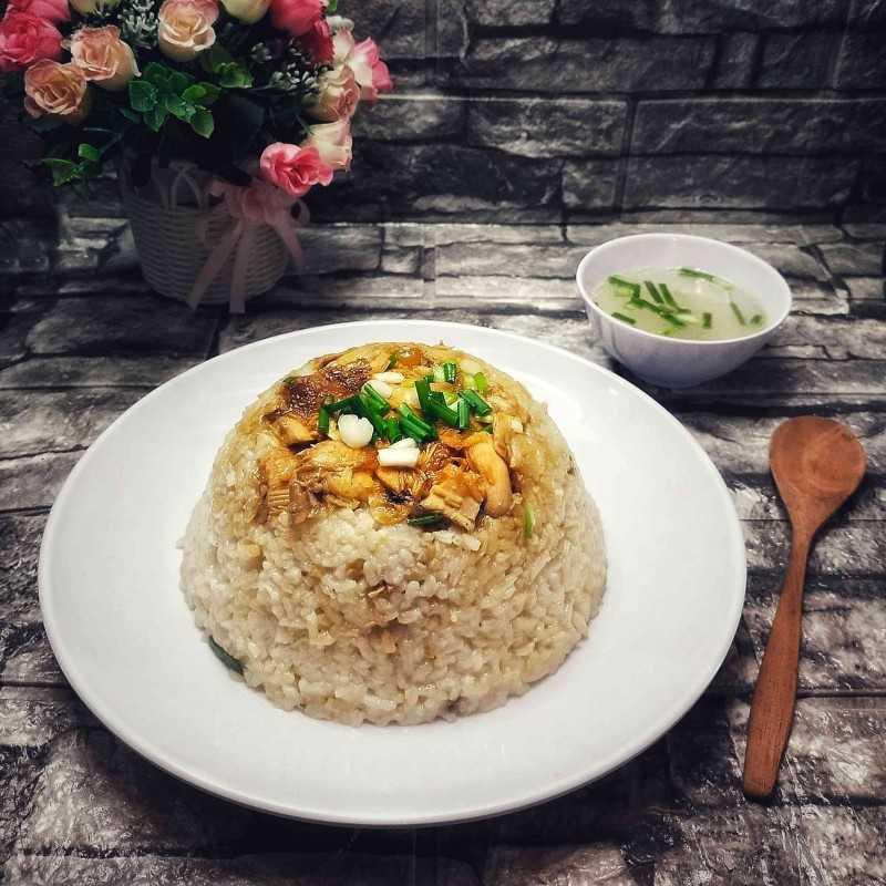 Nasi Tim Ayam #JajanDiRumah