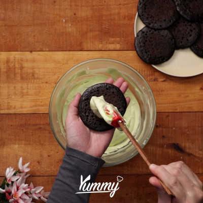 Step 5 Milky Matcha Cream