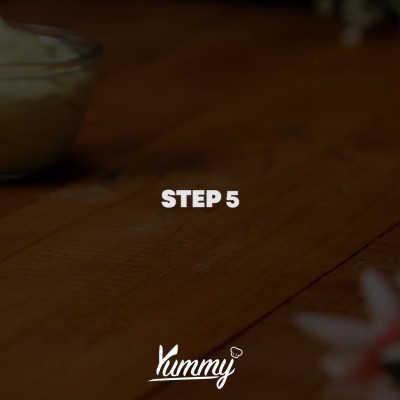 Step 5 Dorayaki Hitam Lumut