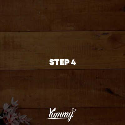 Step 4 Dorayaki Hitam Lumut