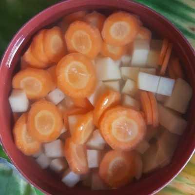 Step 1 Sayur Sop Bumbu Goreng