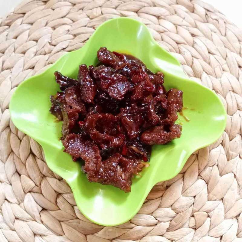 Daging Sapi Kecap Bumbu Iris
