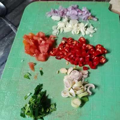 Step 2 Daging Sapi Kecap Bumbu Iris