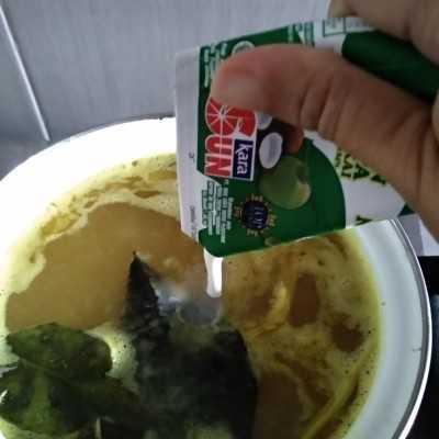 Step 4 Soto Kikil Santan Khas Bogor