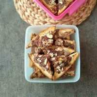 Bagelen Roti Tawar Cokelat Almond