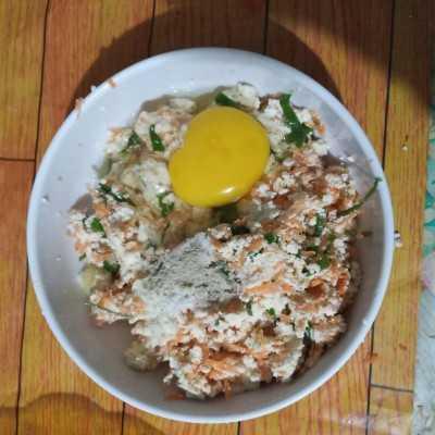 Step 3 Tahu Pong Isi Wortel