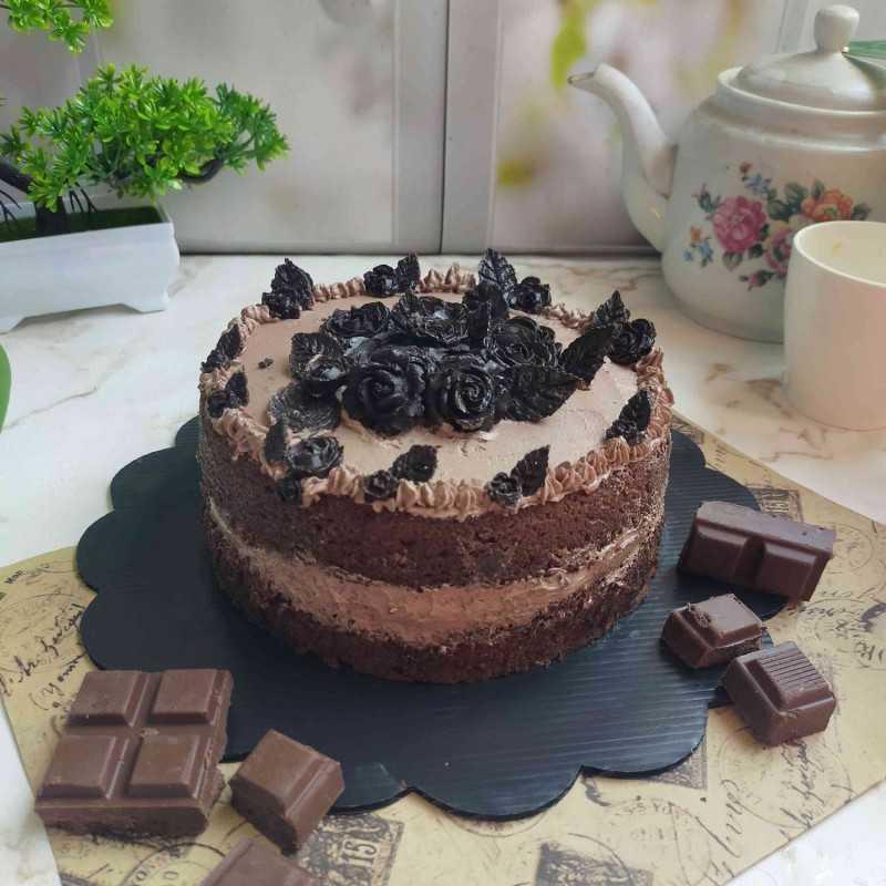 African Choco Steam Brownies