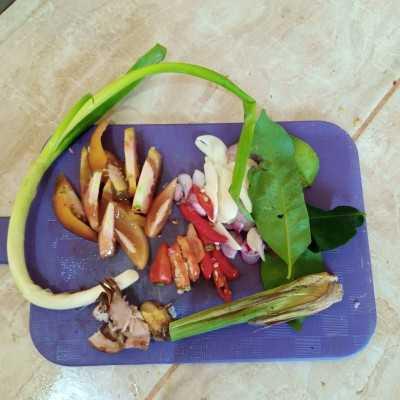 Step 2 Gongso Pedas Usus Ayam #JelajahBarat