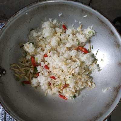 Step 4 Nasi Goreng Kampung