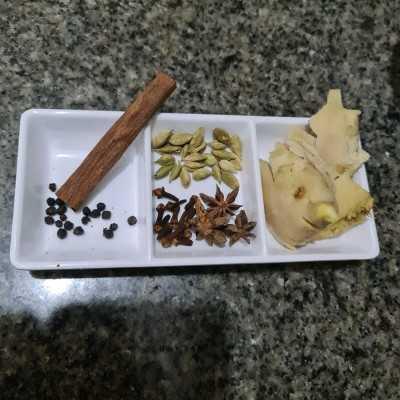 Step 1 Chai Latte