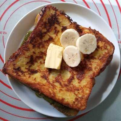 Step 5 Macha French Toast