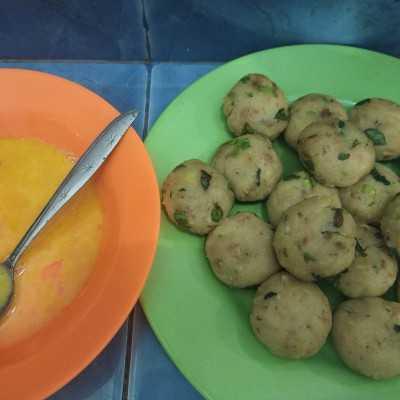 Step 4 Bergedel kentang