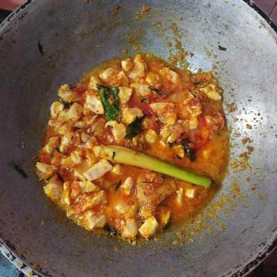 Step 4 Ayam Cincang Masak Rica-Rica